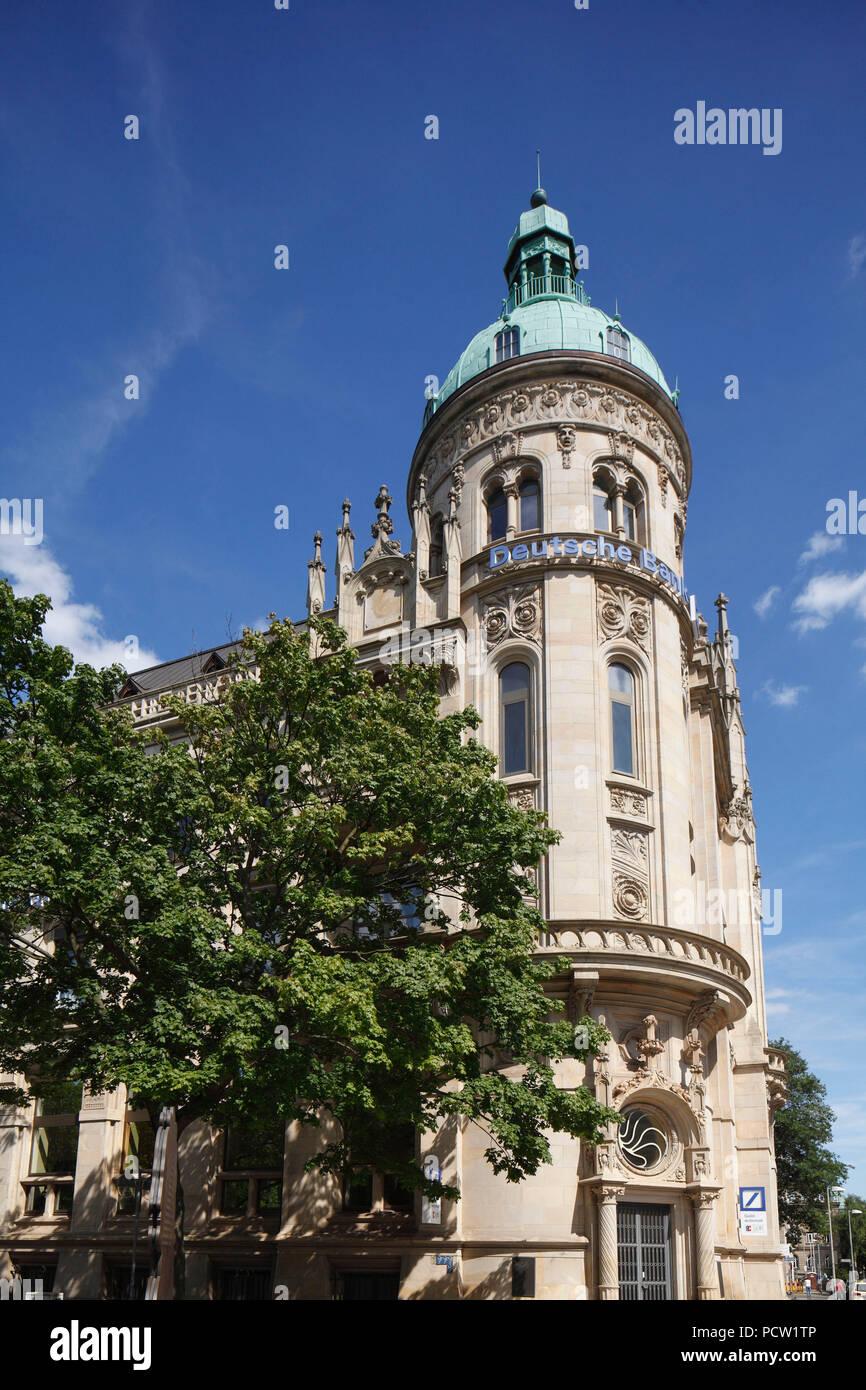 Deutsche Bank Building Hannover Lower Saxony Stockfotos Deutsche