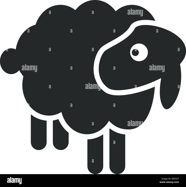 Schaf Logo Icon Vorlage Vektor Abbildung Bild 214534299 Alamy