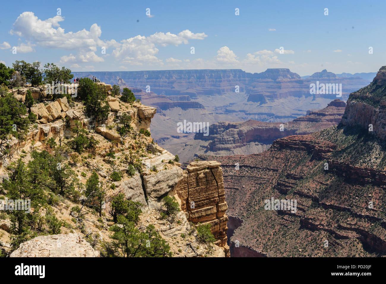 Der Grand Canyon von Hopi Point Stockbild