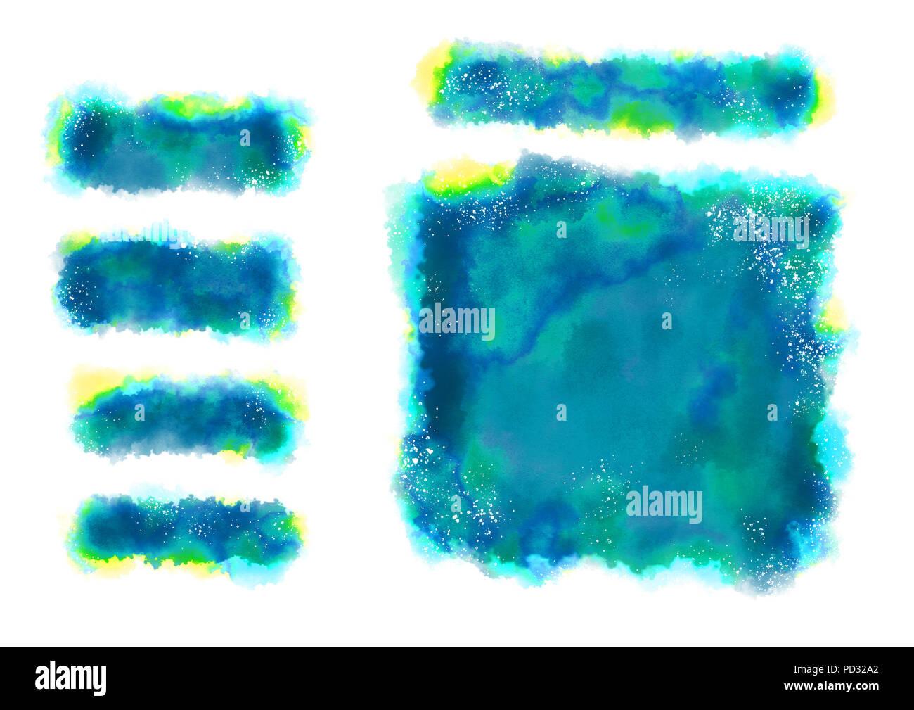 Eine Digitale Aquarelle Von Hintergrund Mit Weissen Punkten Und