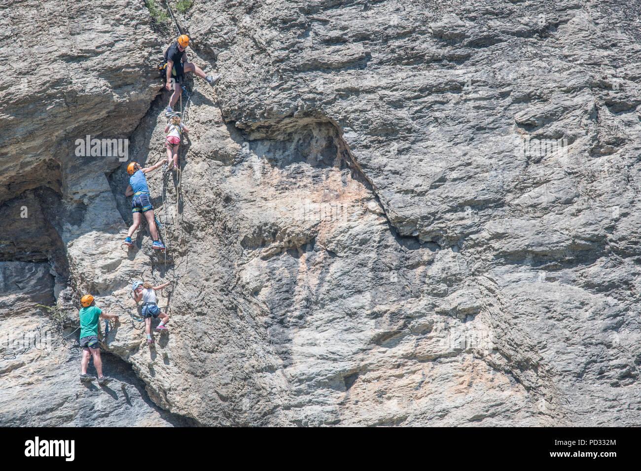 Klettersteig Urlaub : Klettersteig touren das ganz besondere bergerlebnis