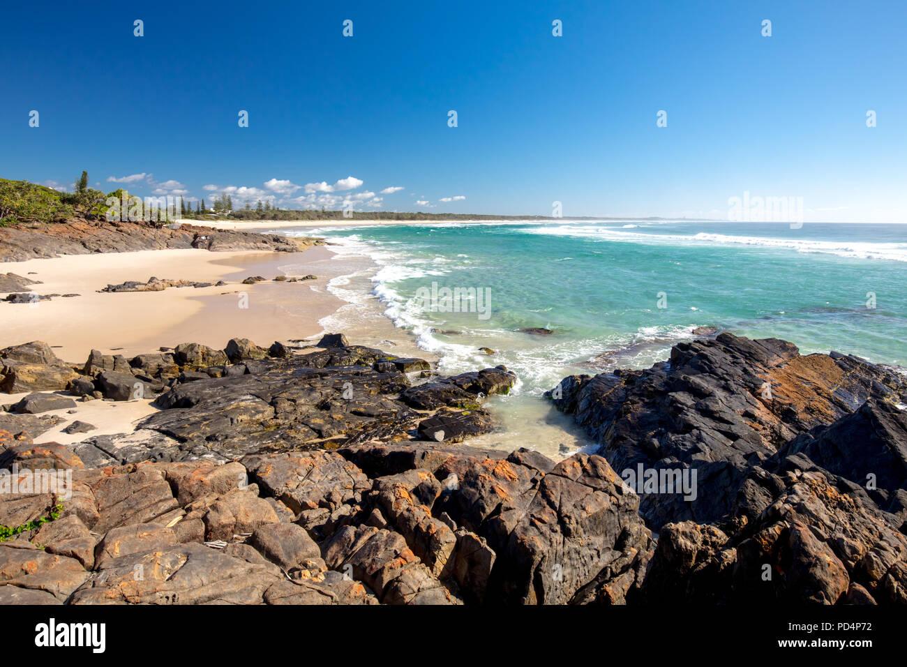 Kingscliff Australien Stockbild