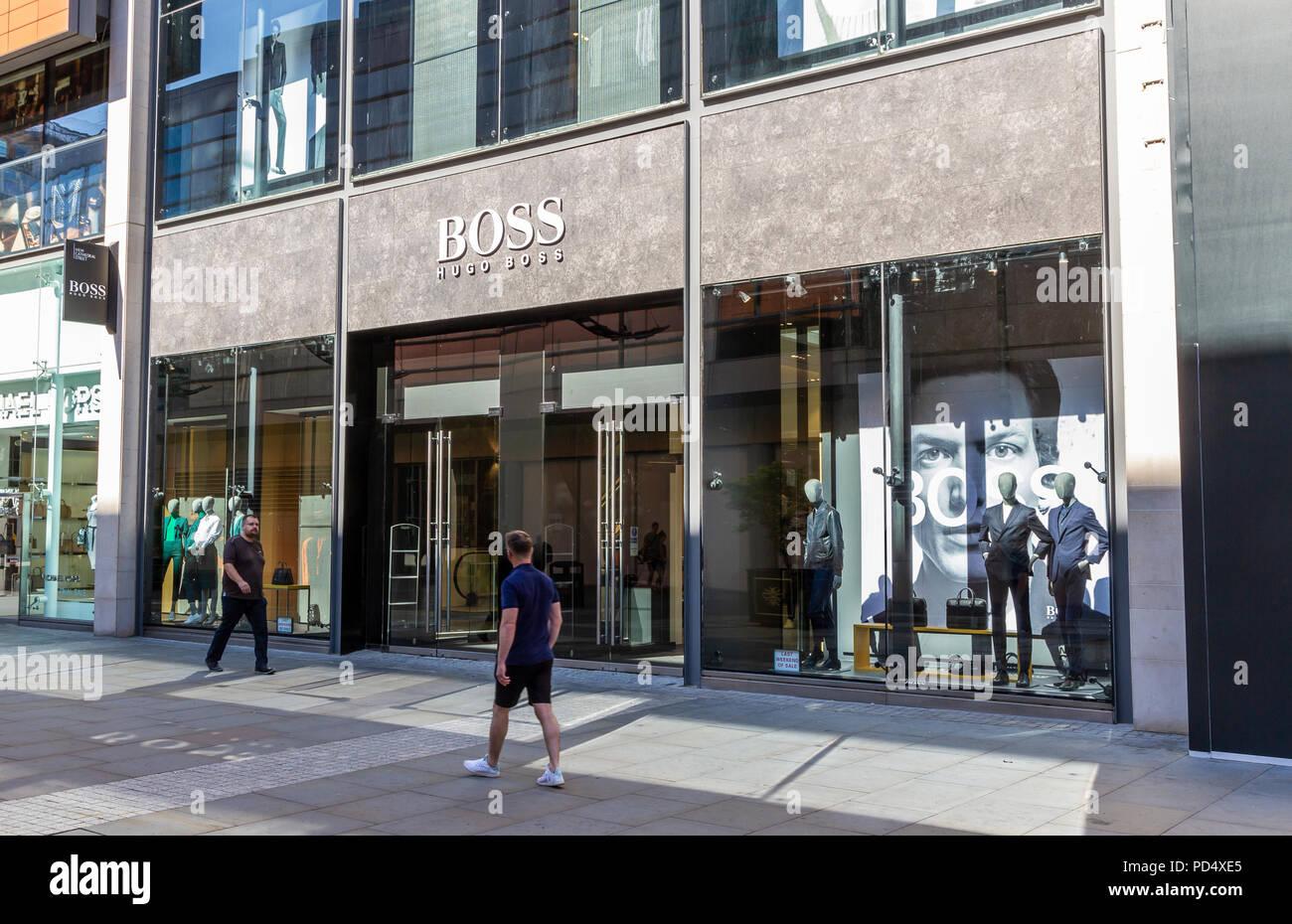 the best attitude 9e1cb 80491 Hugo Boss Stockfotos & Hugo Boss Bilder - Alamy