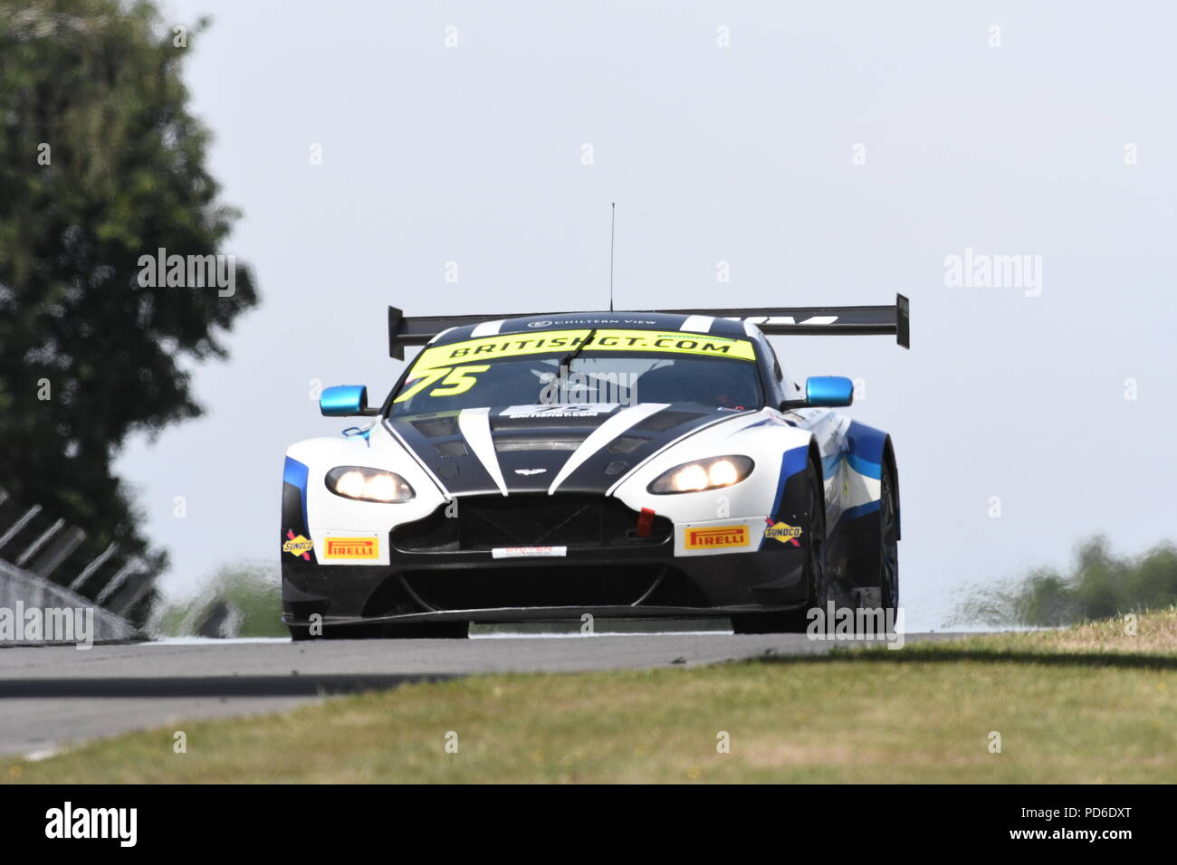 Britische GT Meisterschaft Brands Hatch Stockbild