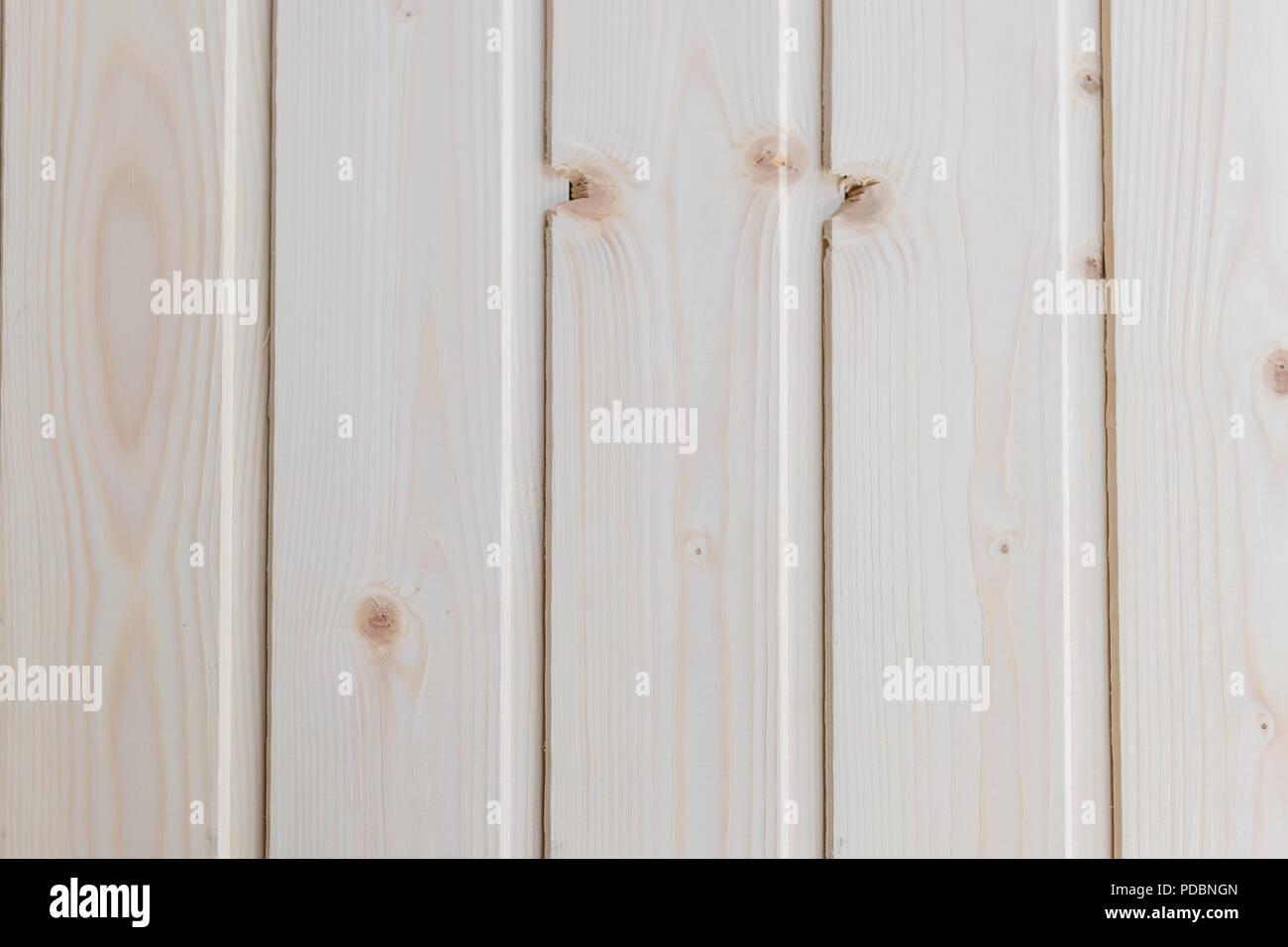 Abstrakte Helles Holz Textur über Weiße Licht Natürliche Farbe