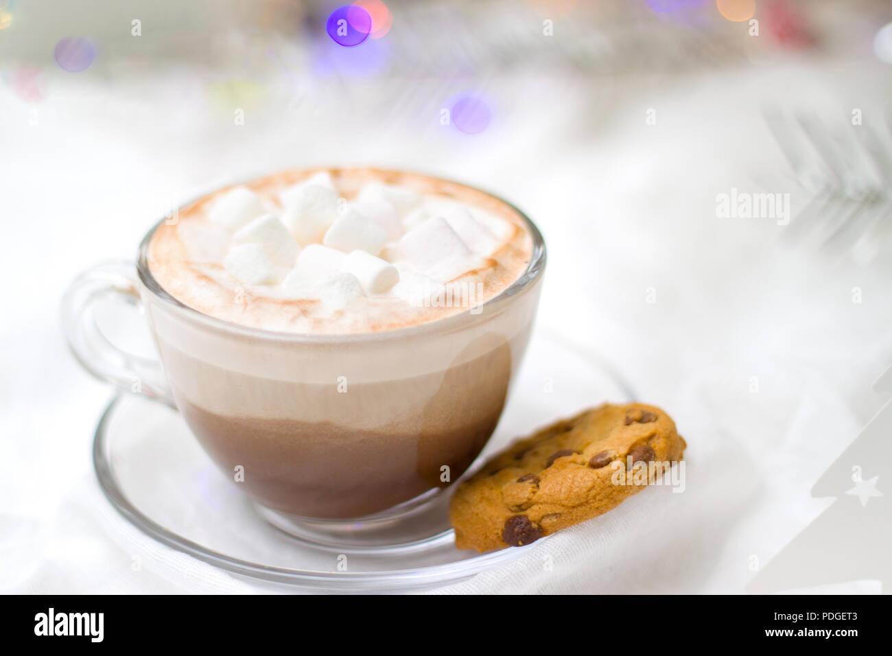 Urlaub Winter Feier Und Guten Morgen Konzept Weihnachten