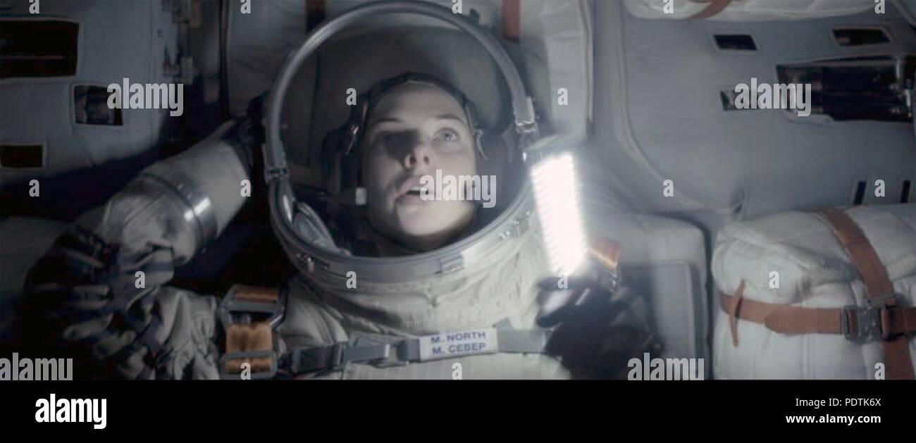 Leben 2017 Columbia Pictures Film mit Rebecca Ferguson Stockbild