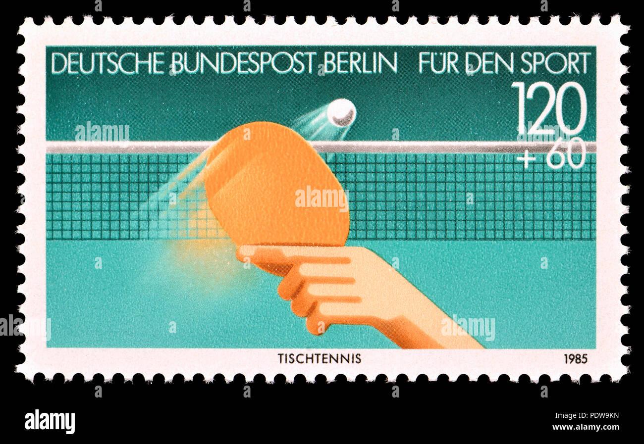 Deutschen Briefmarke Berlin 1985 Fur Den Sport Liebe Stempel