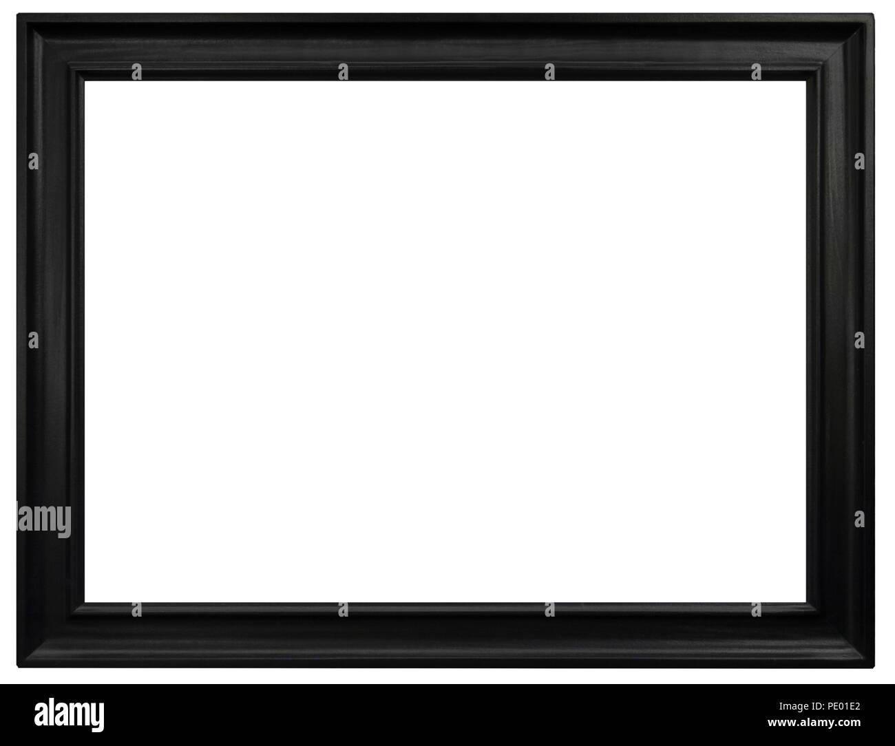Eleganter und schicker Bilderrahmen in schwarz, im Firma Syngenta AG Stockbild