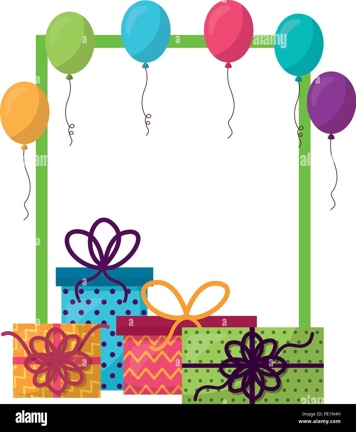 Helium Birthday Balloons Stockfotos & Helium Birthday Balloons ...