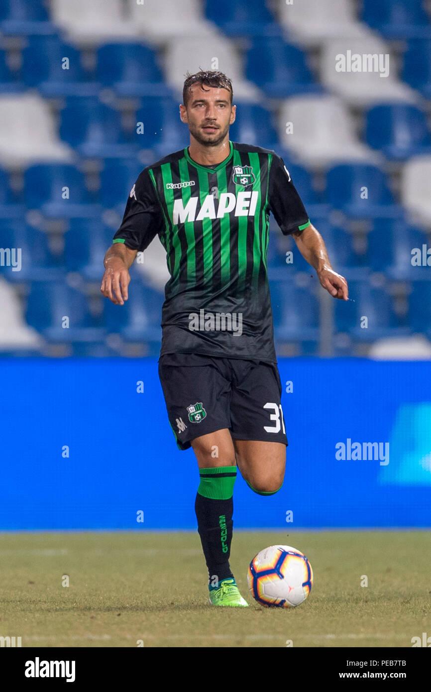 Gian Marco Ferrari Sassuolo Während Der Italienischen Dritte Runde Italien Pokalspiel Zwischen Dem Sassuolo 5 1