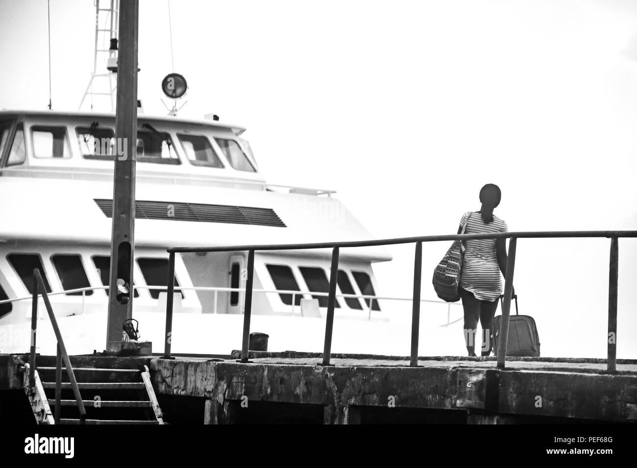 Insel Grenada Stockbild