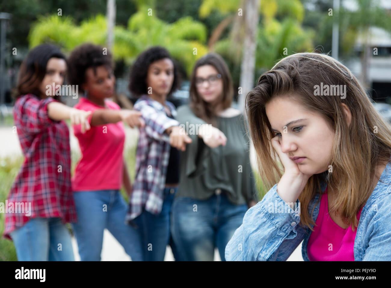 Nalisierte Mädchen