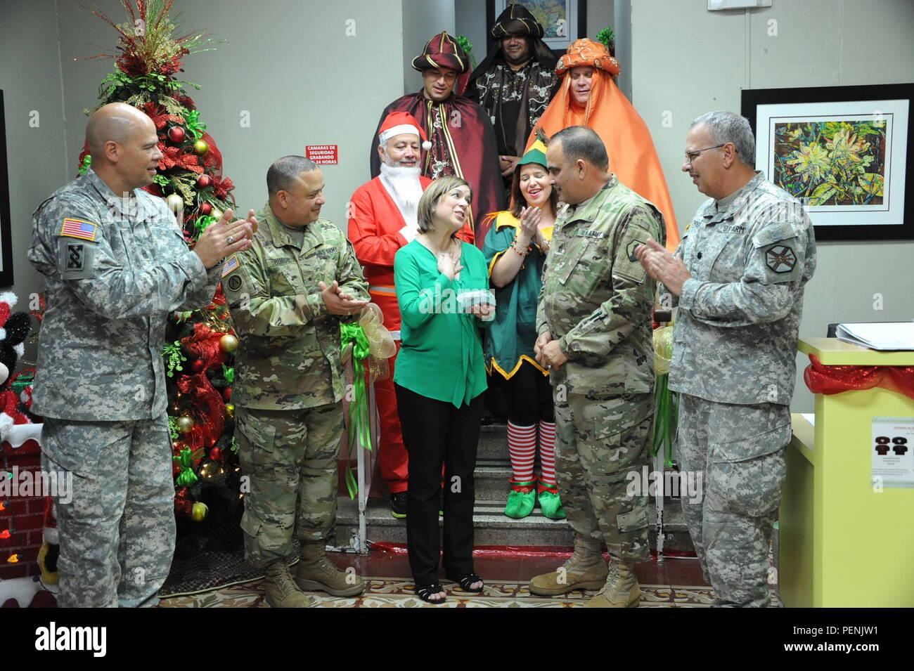 Die erste Mission Support Command (MSC), U.S. Army Reserve - Puerto ...