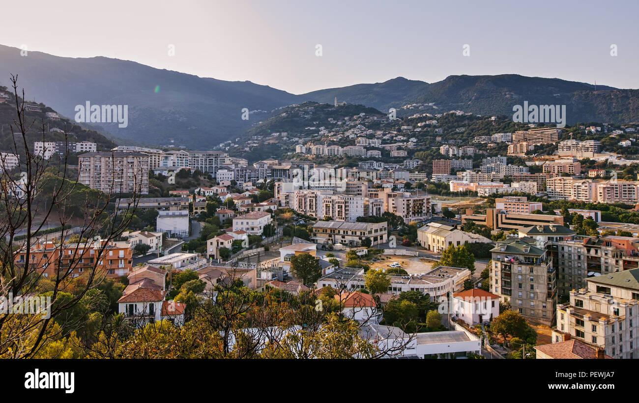 Korsika Landschaften Frankreich Europa Stockbild