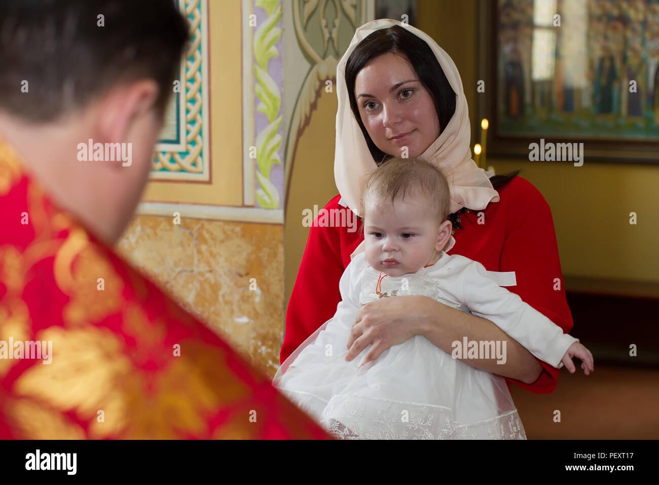 Belarus Die Stadt Gomel April 29 2018 Kirche Auf Dem