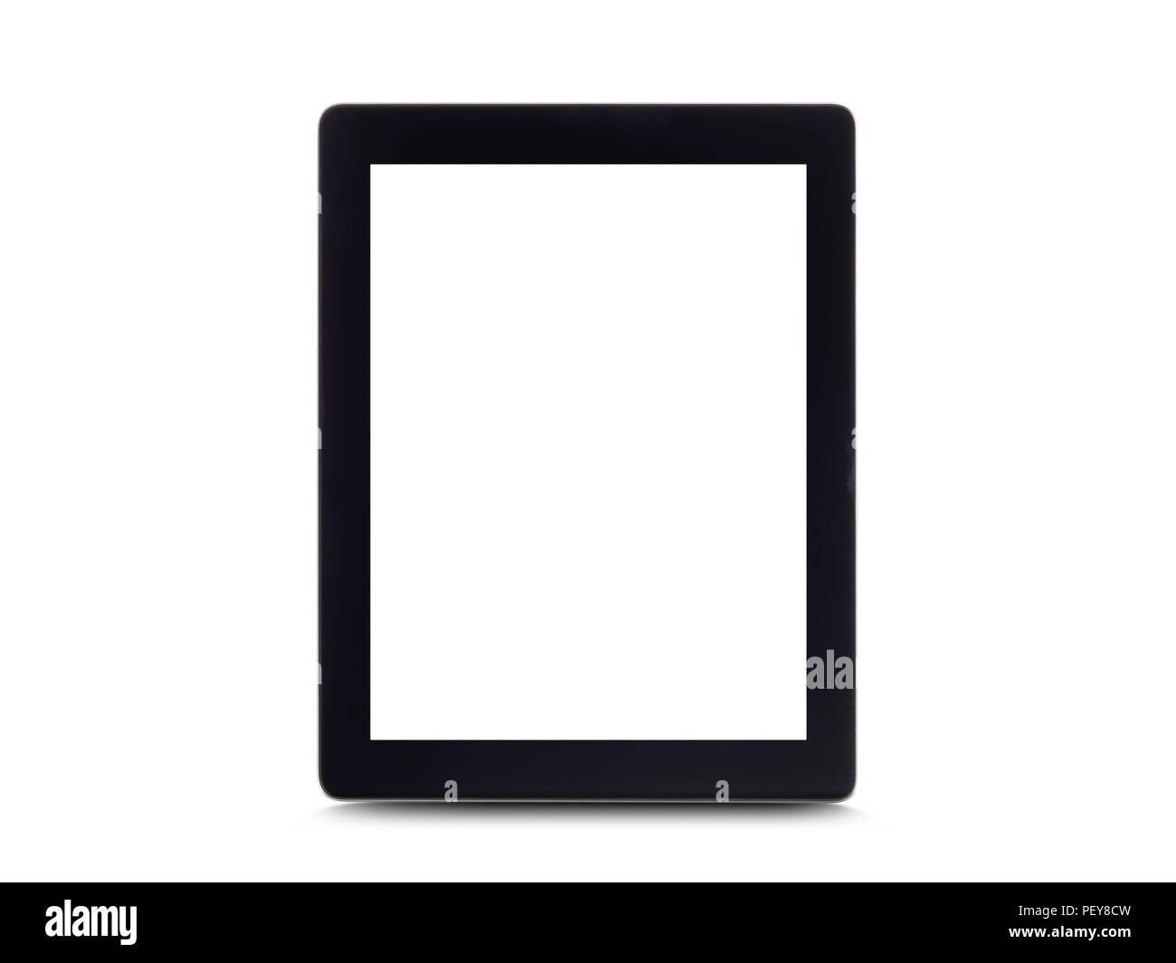 Digitale tablet, Studio gedreht. Stockbild