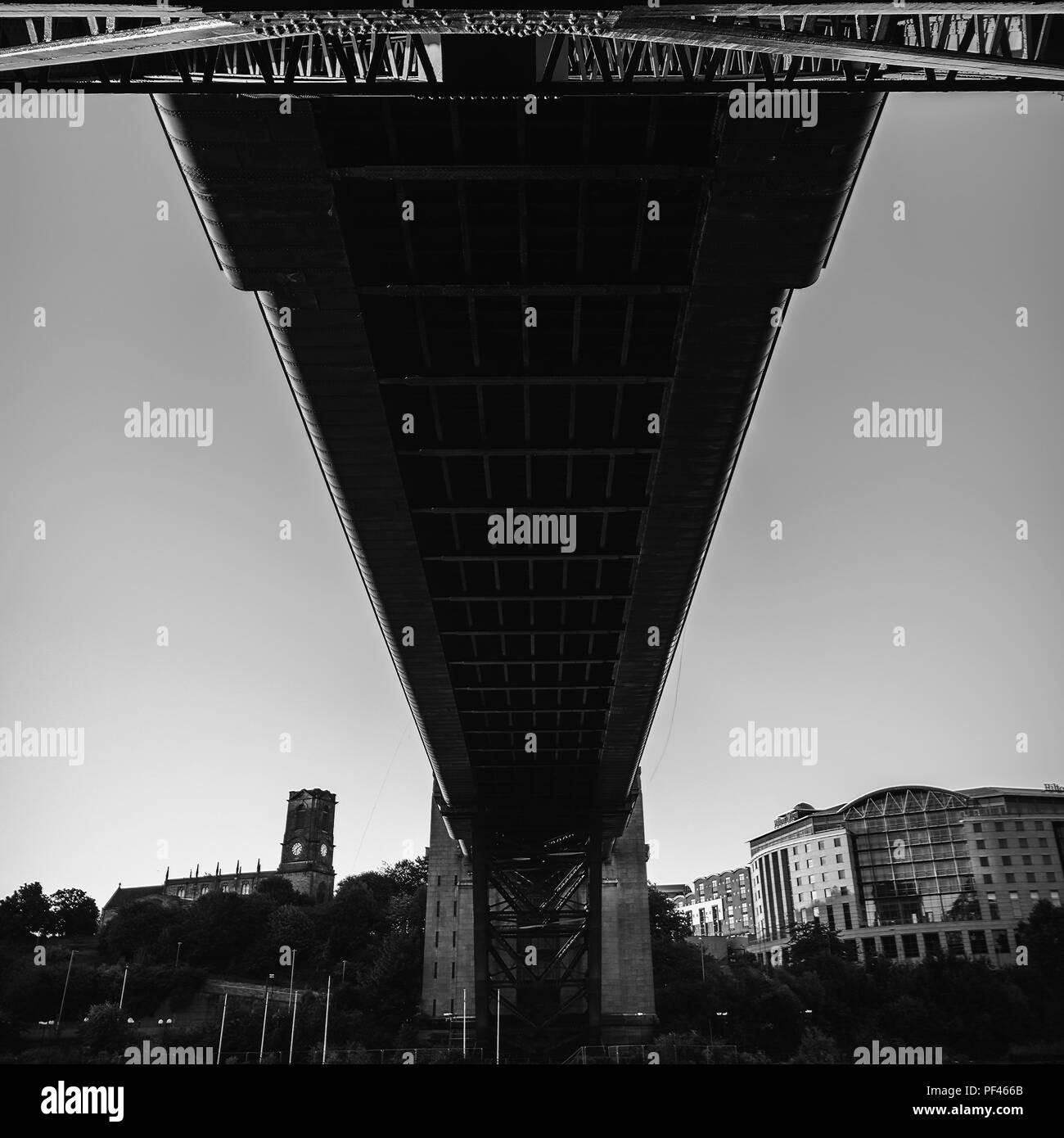 Tyne Brücke Stockbild