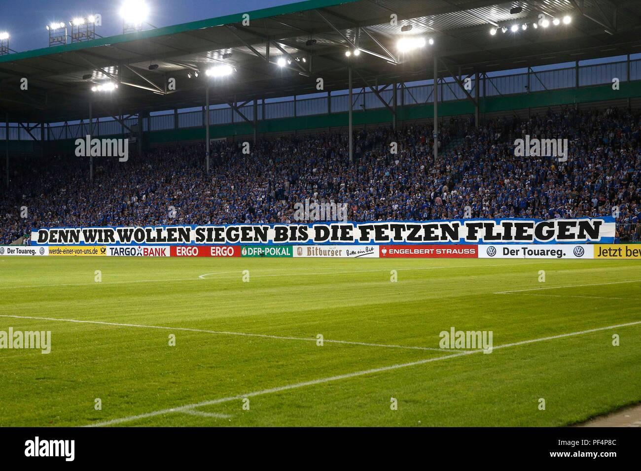 Magdeburg Deutschland 17 Aug 2018 Fußball Dfb Pokal 1 Runde