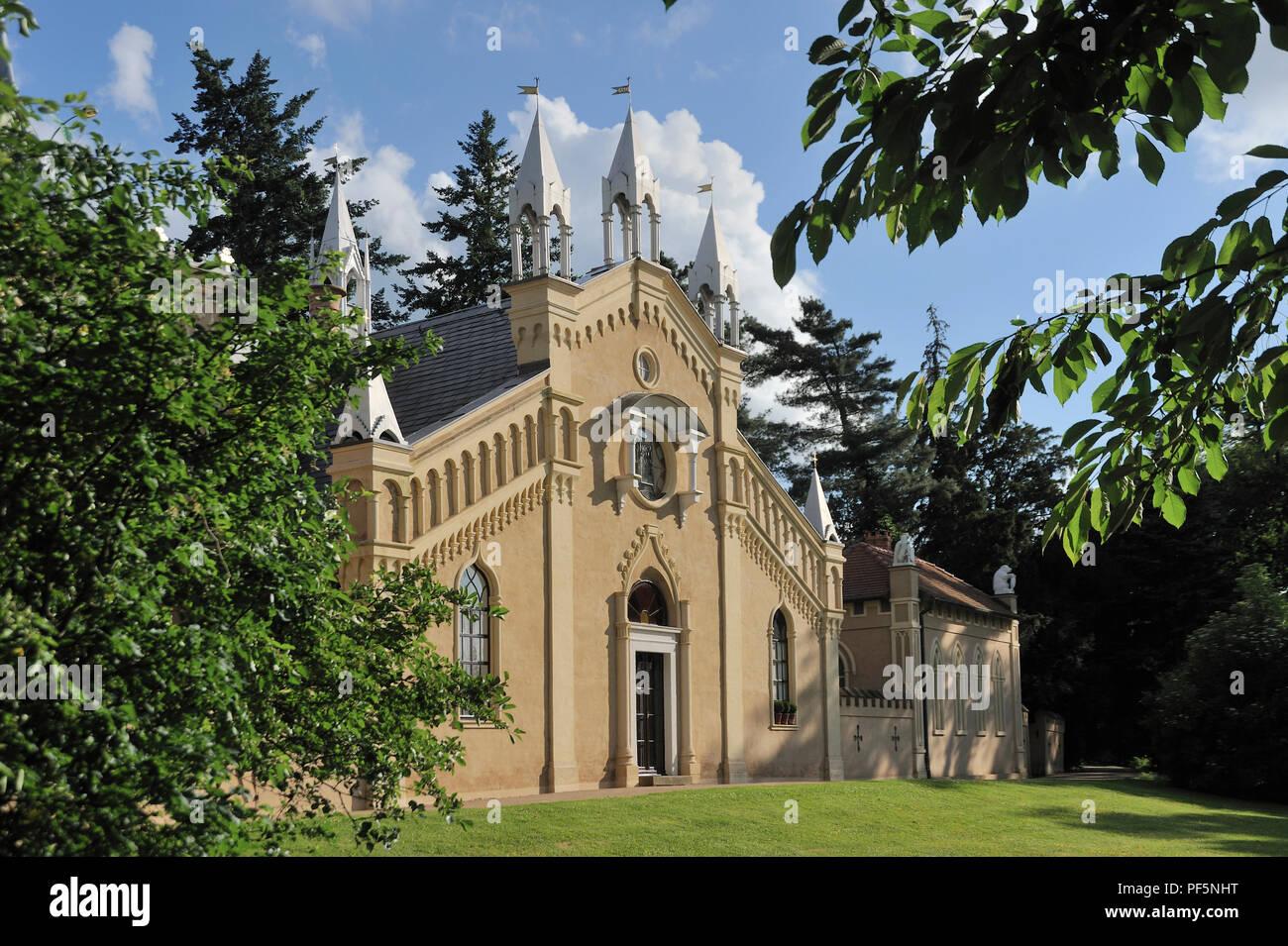 Dessau wörlitzer Gartenreich historische Parks Gotisches