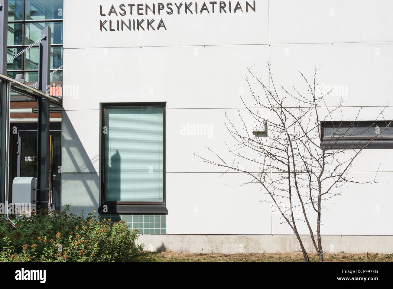 Universitätsklinik Tampere in Tampere Finnland Stockbild