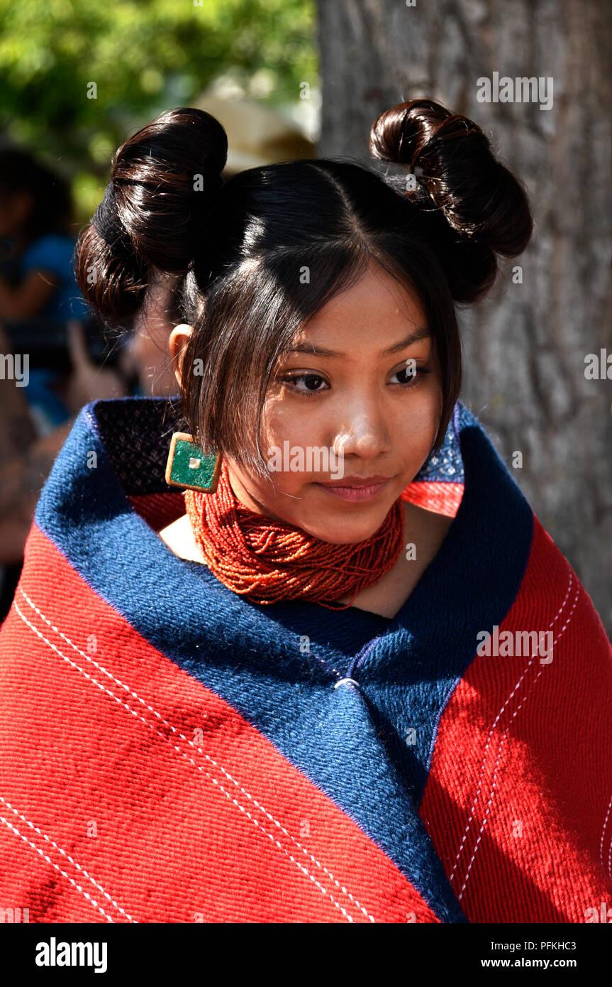 Indianische Frisur Stockfotos und -bilder Kaufen - Alamy