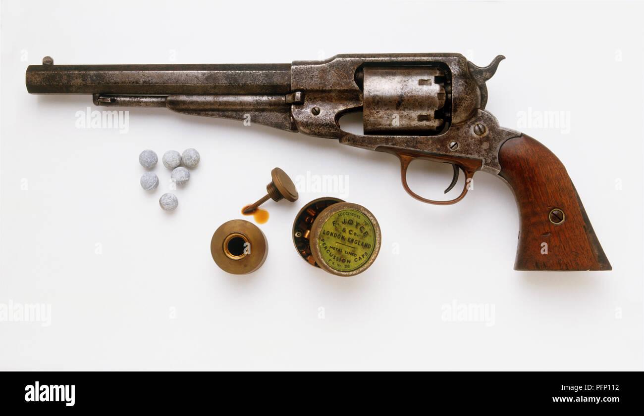 Lange Colt Tasche Pistole, 1849, Kugeln Für Remington New