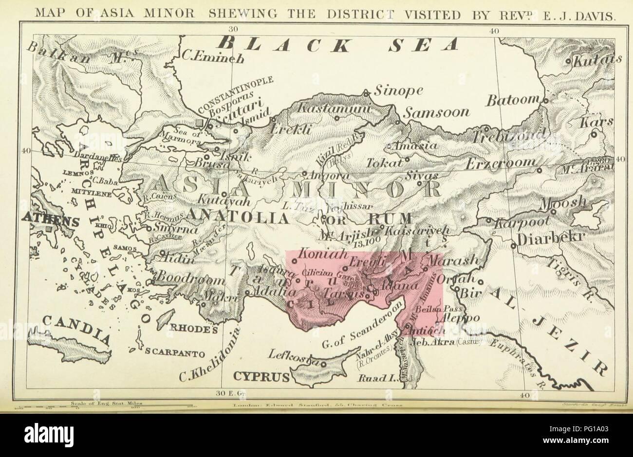 Karte Türkei Kappadokien.Bild Von Seite 30 Der Leben In Der Asiatischen Türkei Eine