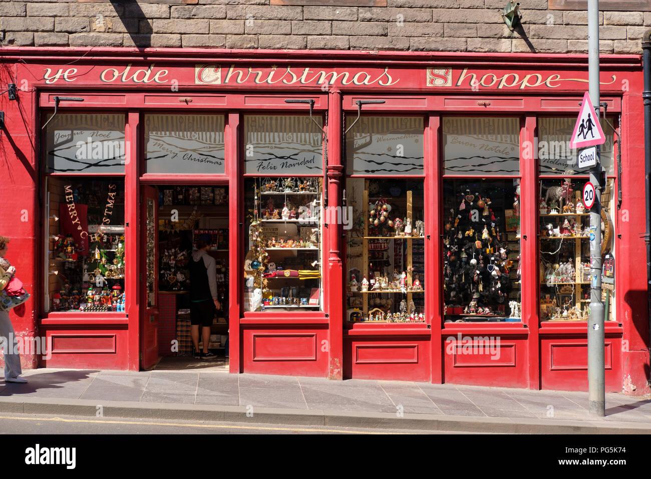 Ye Olde Weihnachten Shoppe, ein das ganze Jahr über Weihnachten Shop ...