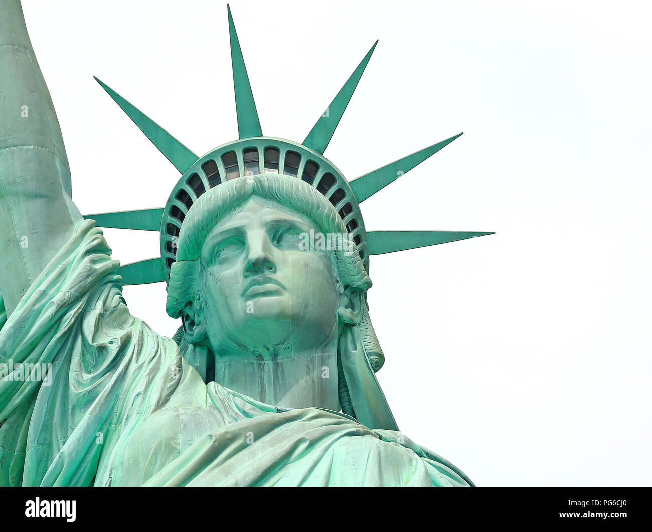 Freiheitsstatue, New York City, USA Stockbild