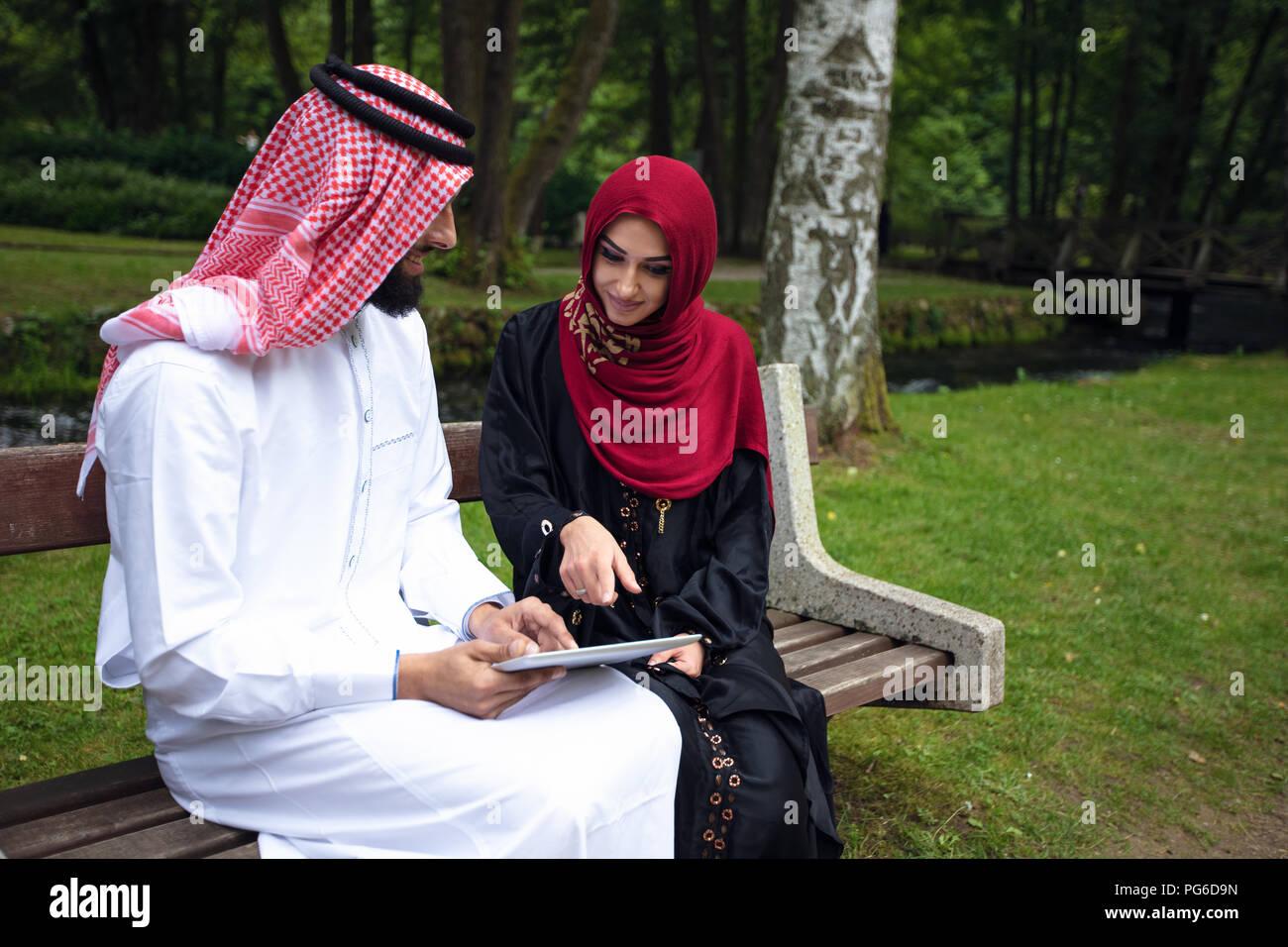junge arabische selfie