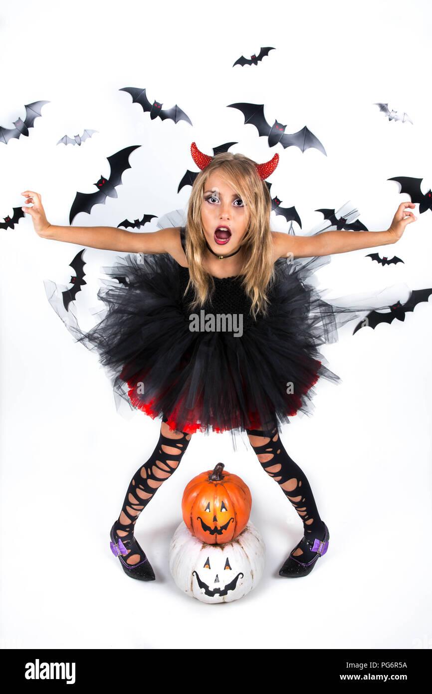 Stockfotosamp; Bilder Alamy Devil Halloween Child zMSUGqVp