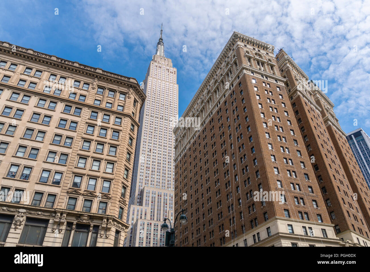 Empire State Building in New York City Stockbild