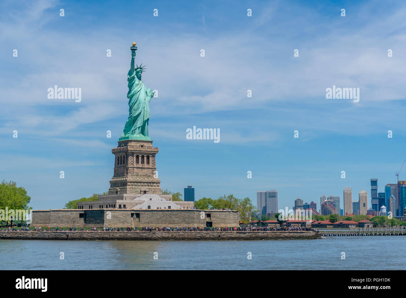 Freiheitsstatue in New York Stockfoto