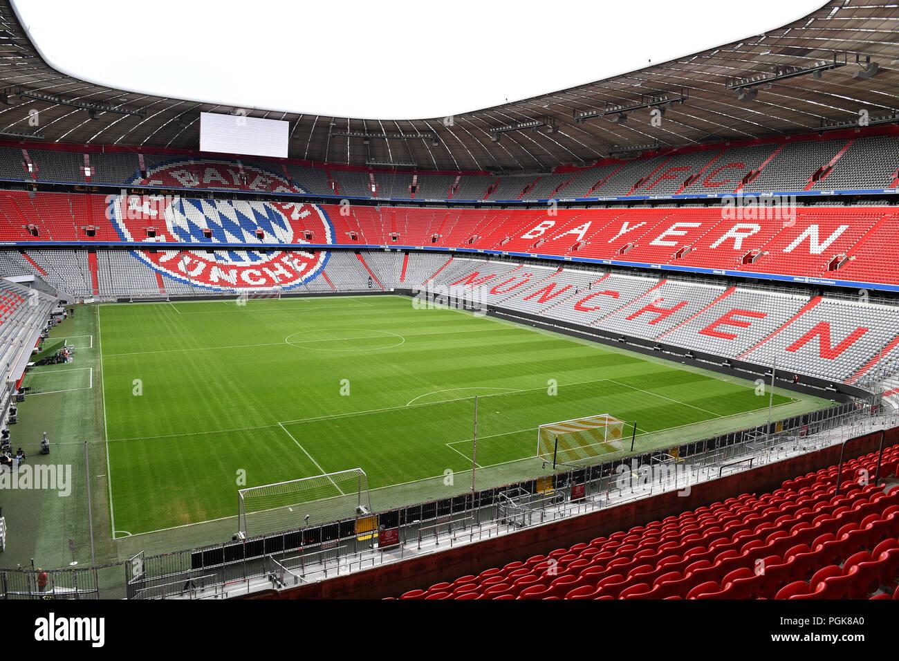 München Deutschland 27 Aug 2018 Leere Allianz Arena