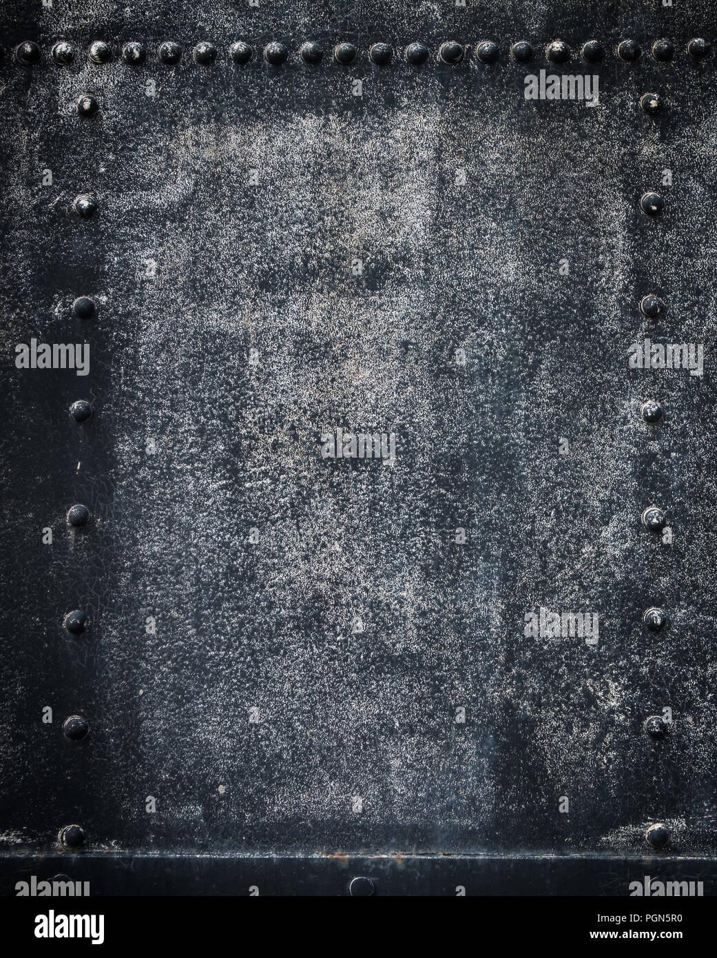 sehr detaillierte Grunge Metall Hintergrund Stockbild