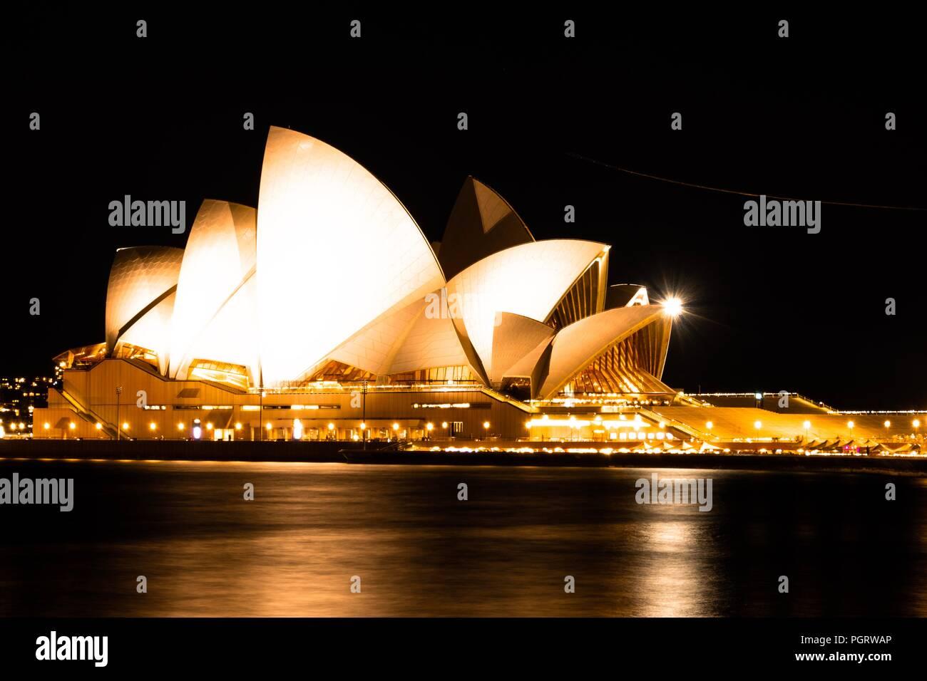 Sydney Opera House Sydney, NSW Stockbild
