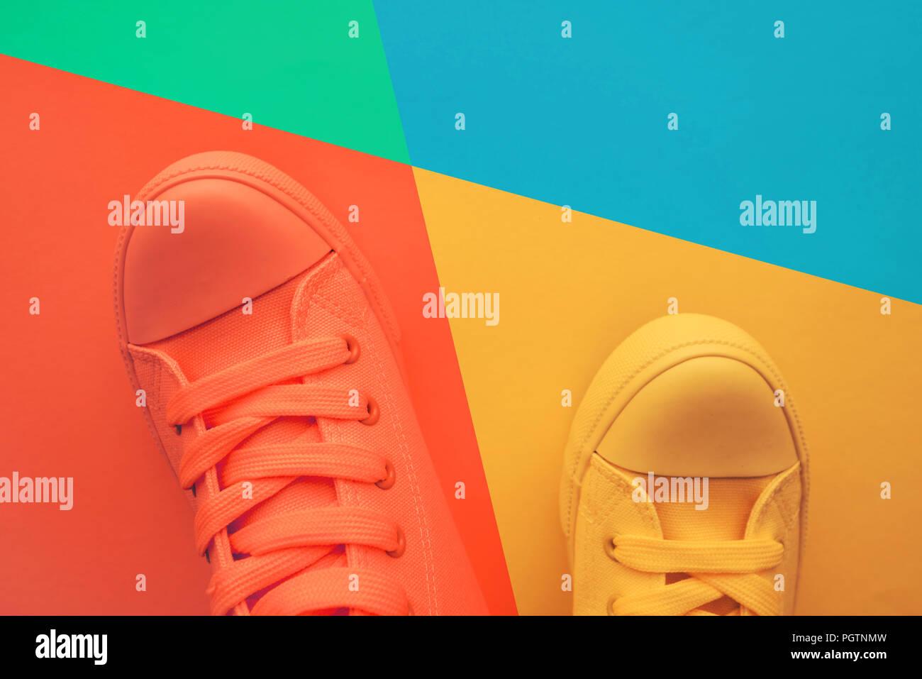 pretty nice 6b134 25d53 Sneaker Schuhe für Jugend lifestyle Konzept, in ...