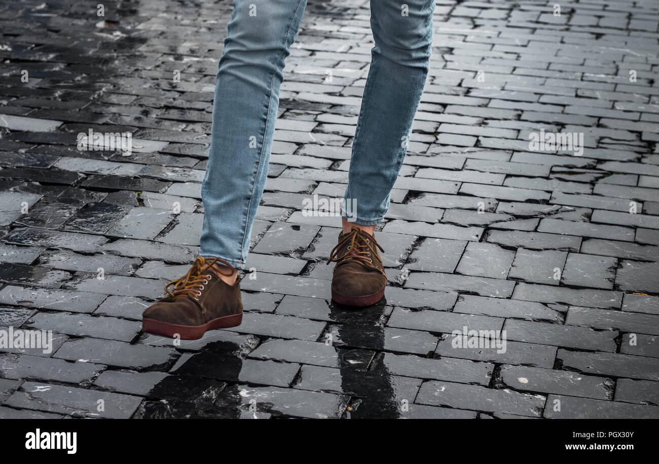 Hipster Schuhe Stockfotos & Hipster Schuhe Bilder Alamy
