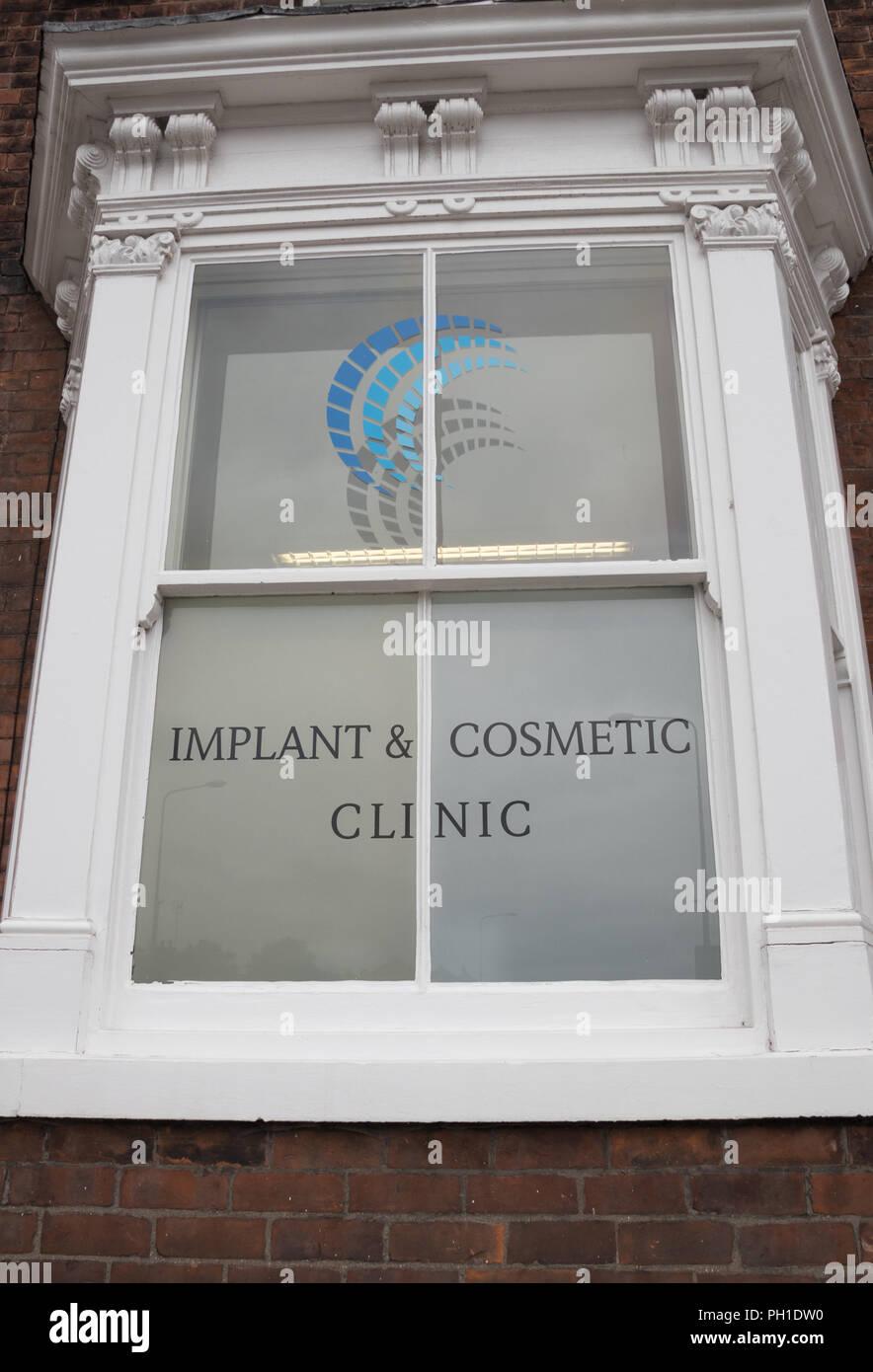 Implantat & Kosmetische Klinik in Beverley, East Yorkshire Stockbild
