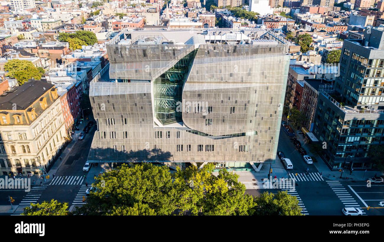 51 Cooper Square, der Cooper Union, Albert Nerken School of Engineering, East Village, Manhattan, New York City, NY, USA Stockfoto