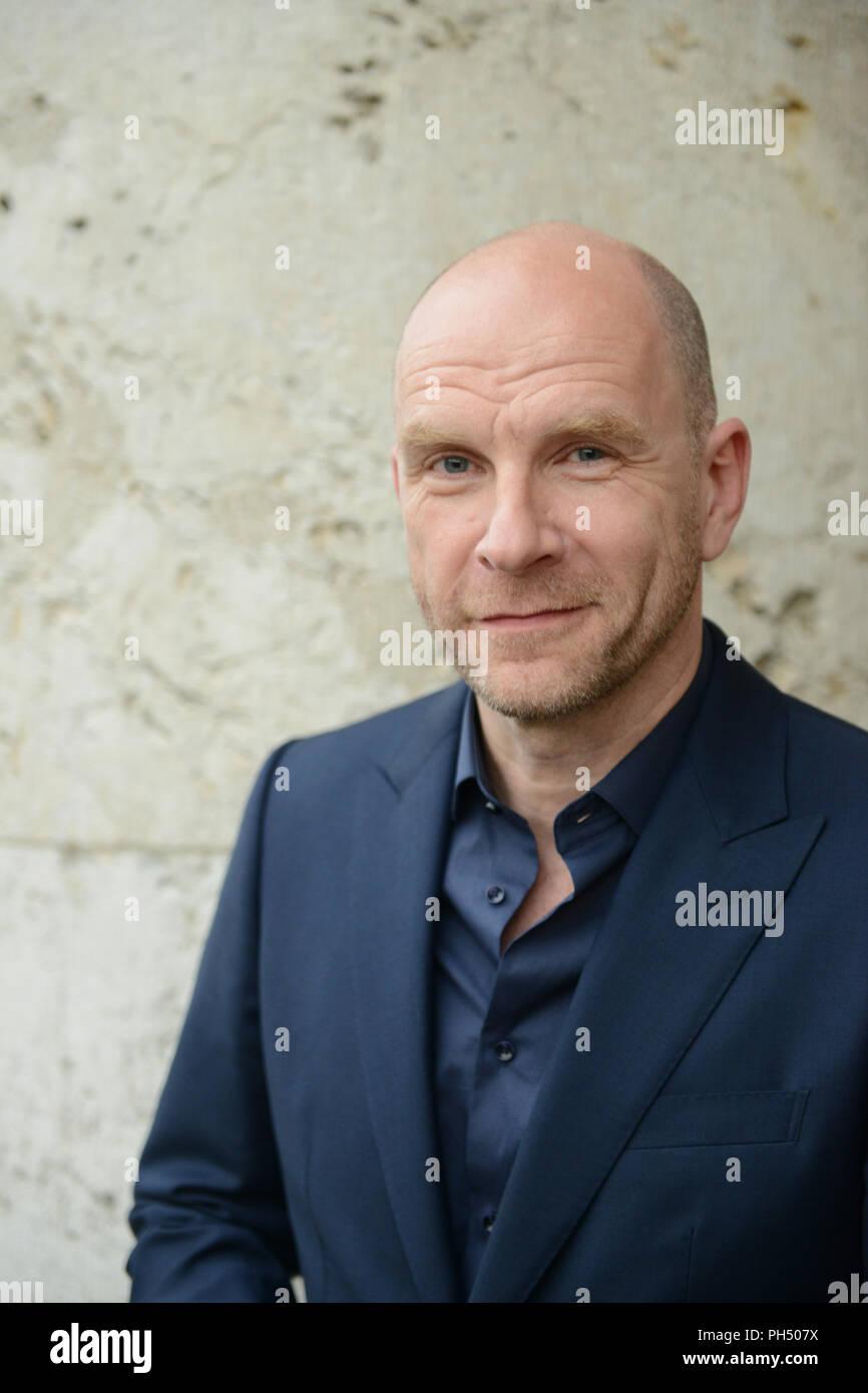 Schauspieler Götz Schuberth Schuß beim Filmfest München 2014 Stockbild