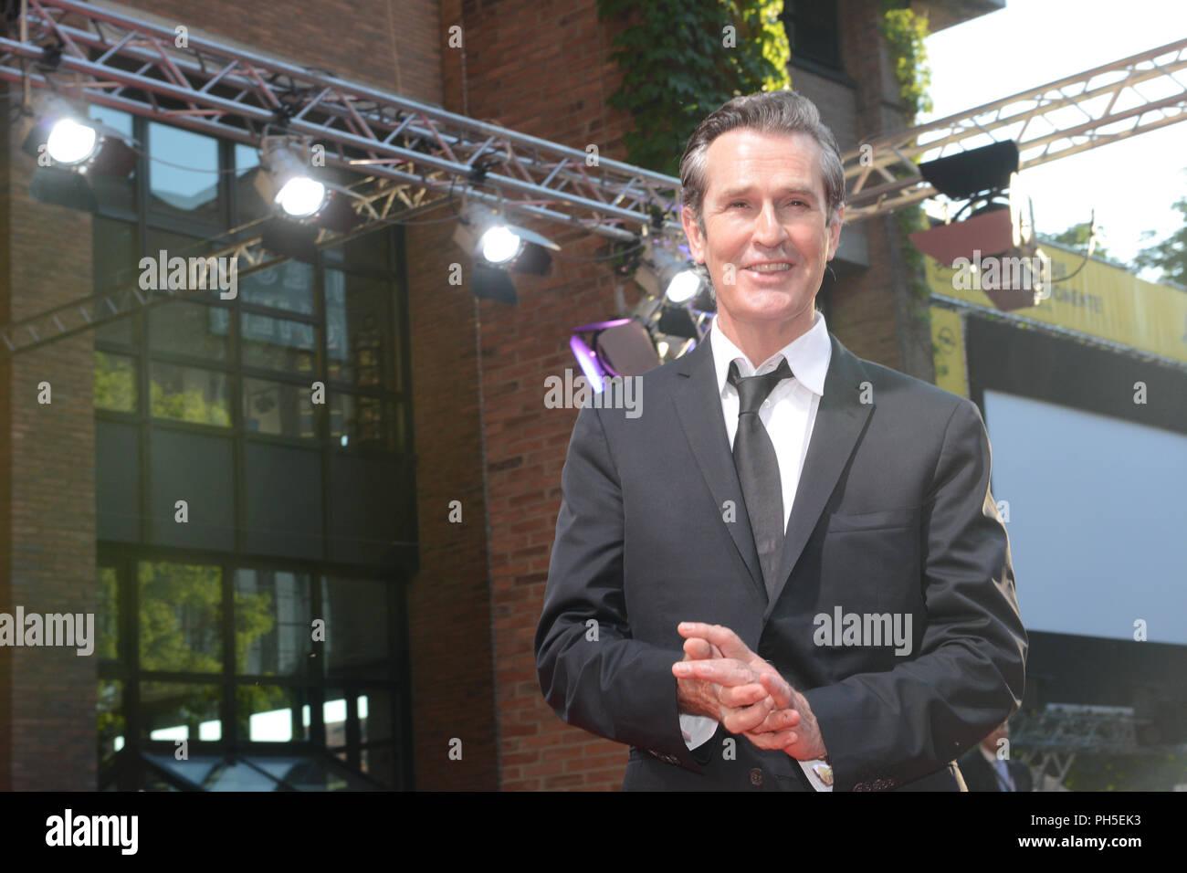 Schauspieler Rupert Everett kommt beim Filmfest München 2015 Stockbild