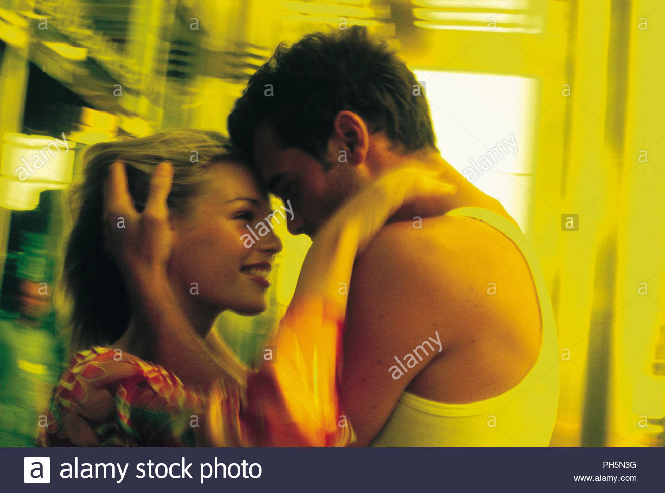 Liebevolle junge Paar Stockbild
