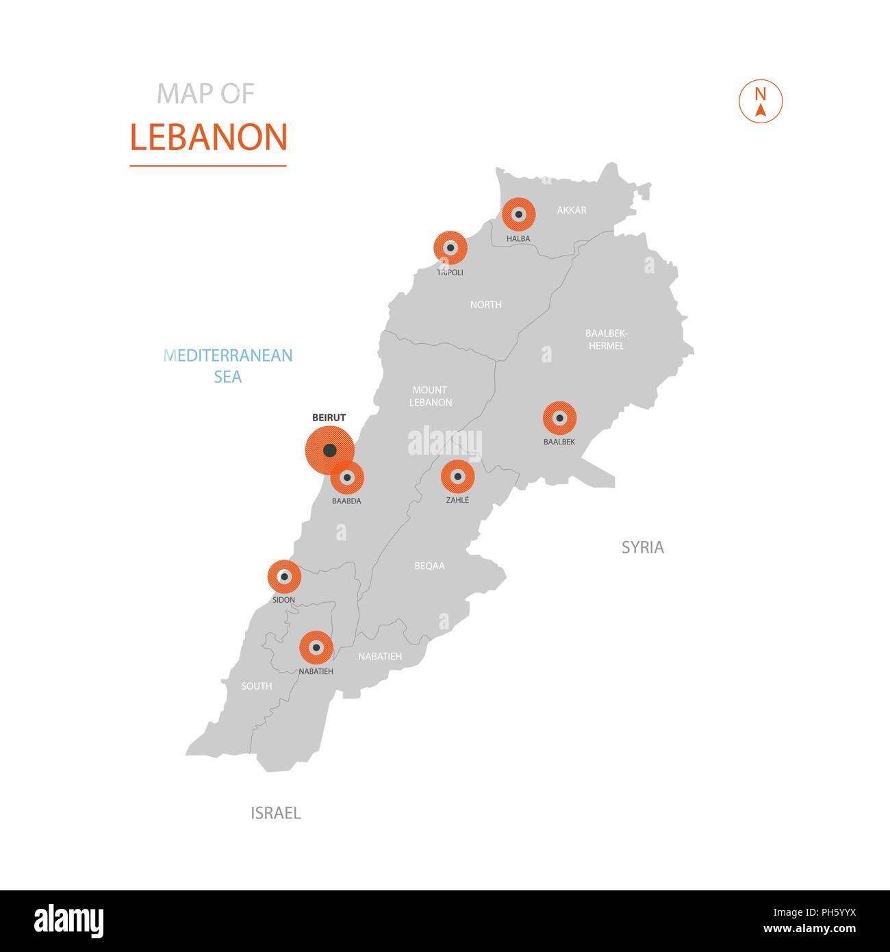 Libanon kontinent