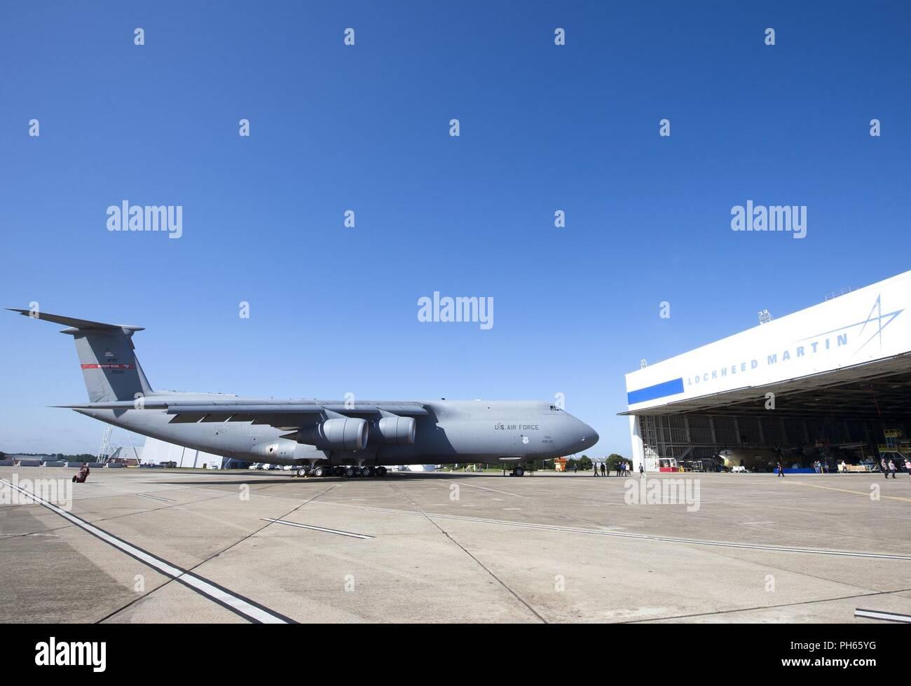 Lockheed Martin hat die letzte C 5M Galaxy an die USAF