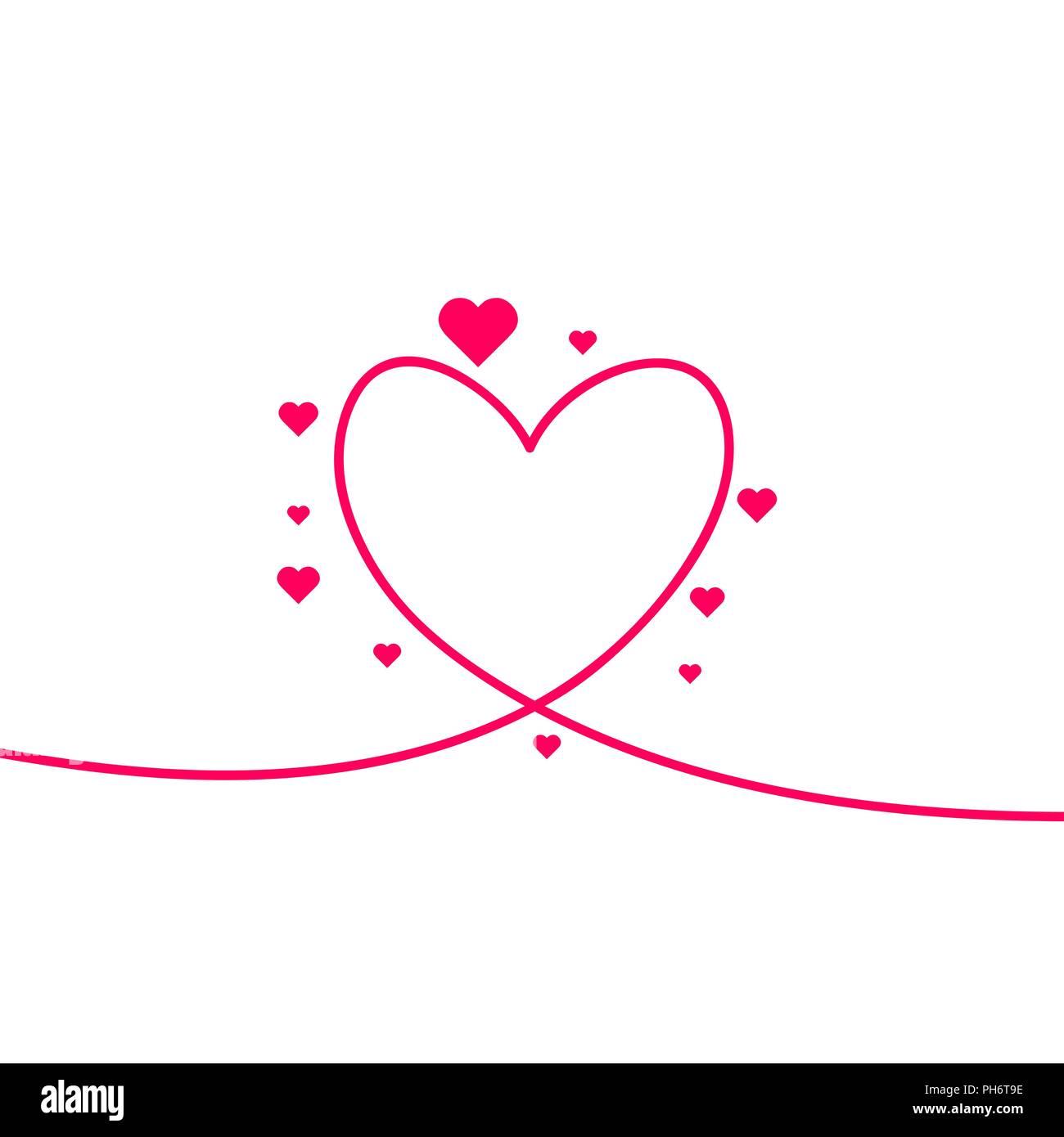 Zeichnen herz bilder Ein Herz