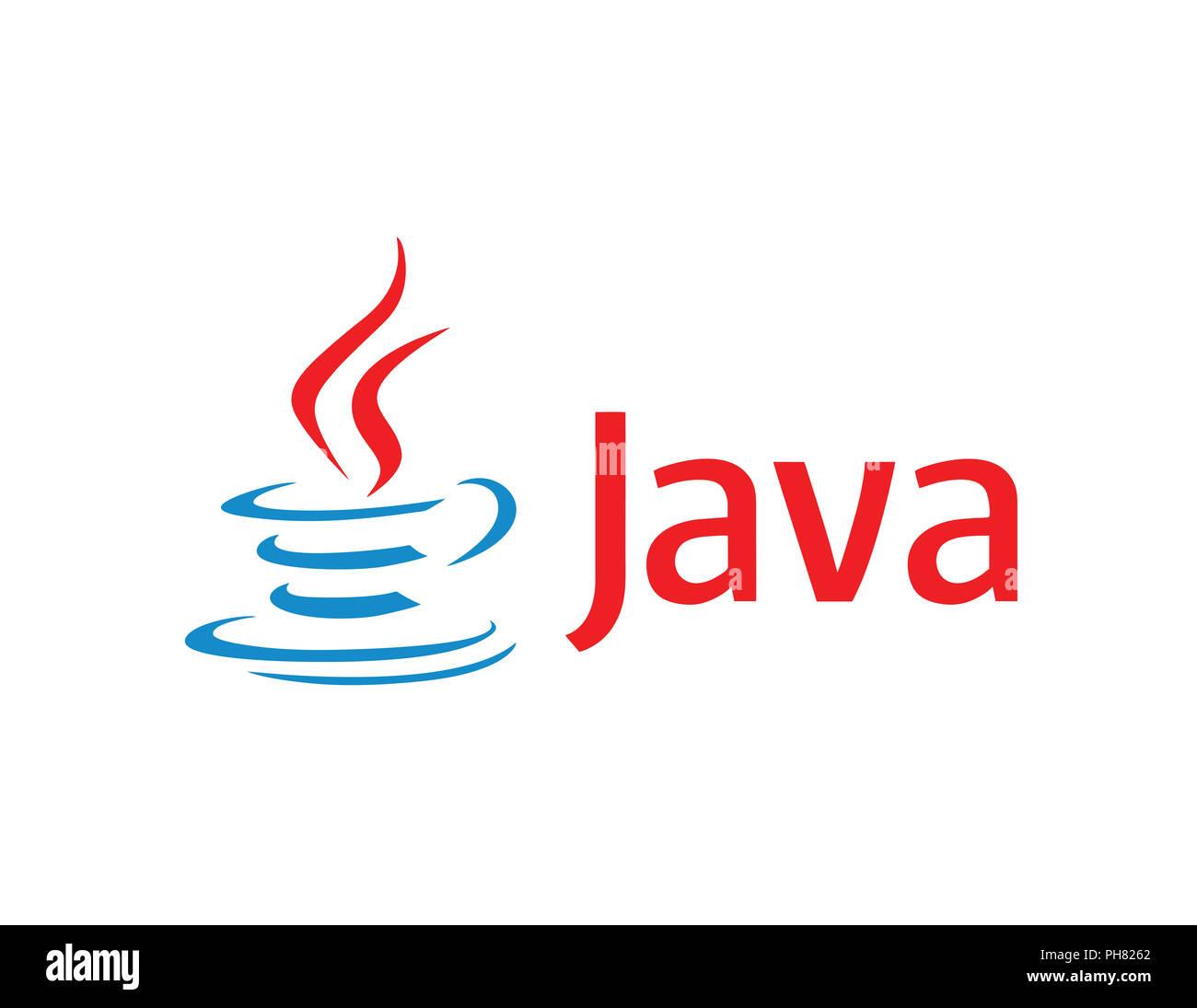 Java Logo illustration Programmierung Technologie Stockfotografie ...