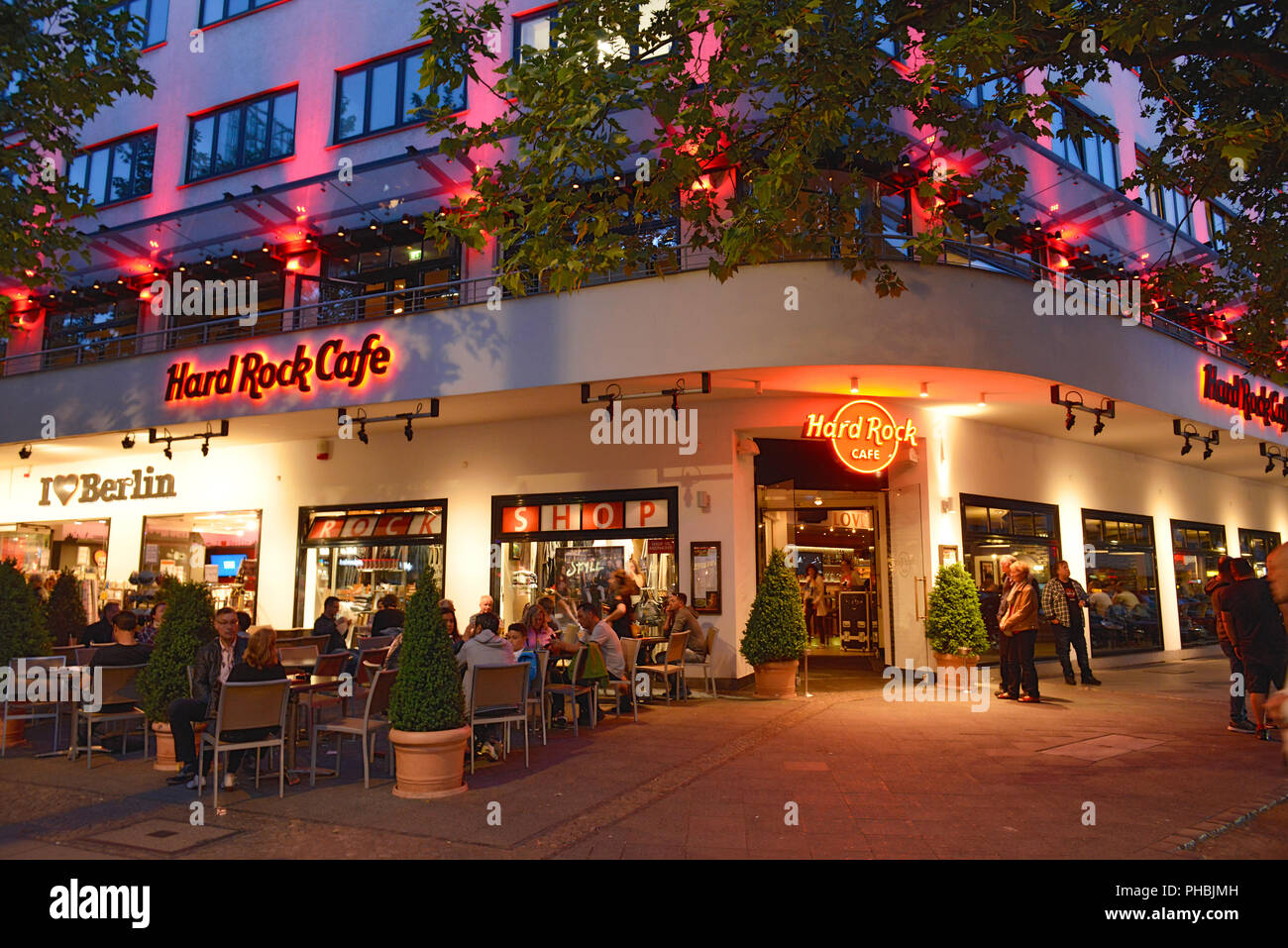 Hard Rock Cafe Kurfürstendamm Charlottenburg Berlin Deutschland