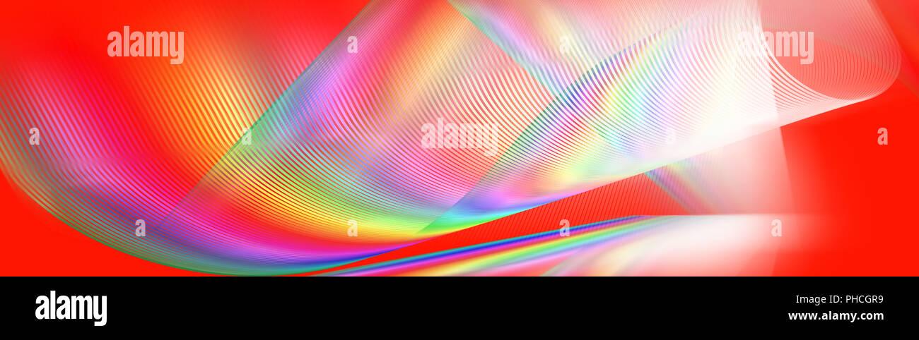 Motion fließende Linien Hintergrund lebendige Stockbild